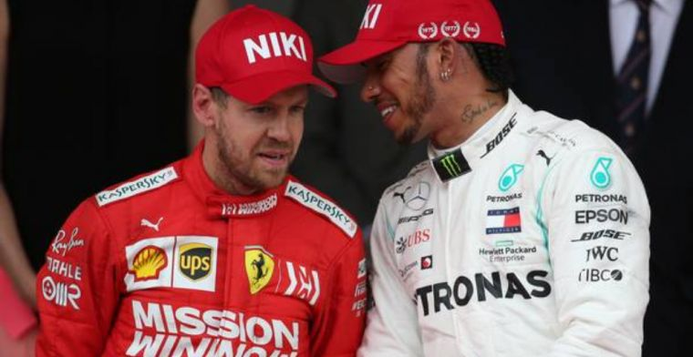 Vettel admits Hamilton's pace is on another level