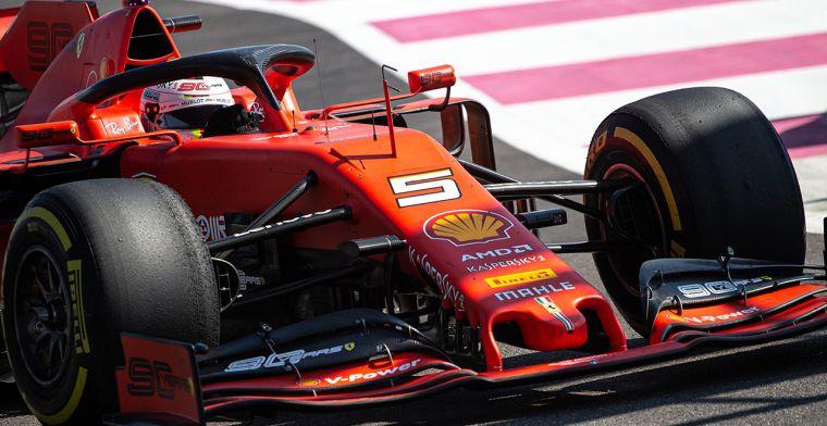 Vettel gaat voor de winst in Oostenrijk
