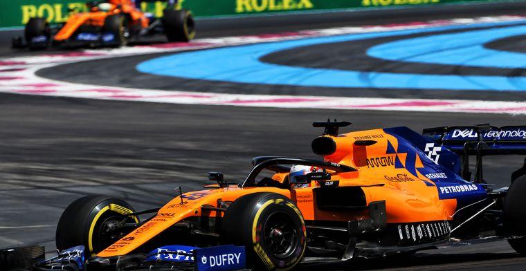 McLaren nog niet klaar met bedreiging Renault