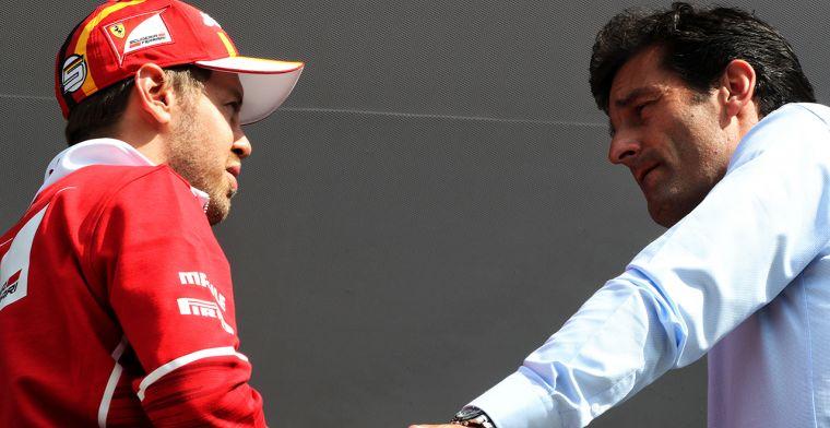 Webber: Red Bull lijkt een Formule 3 team in vergelijking met Ferrari