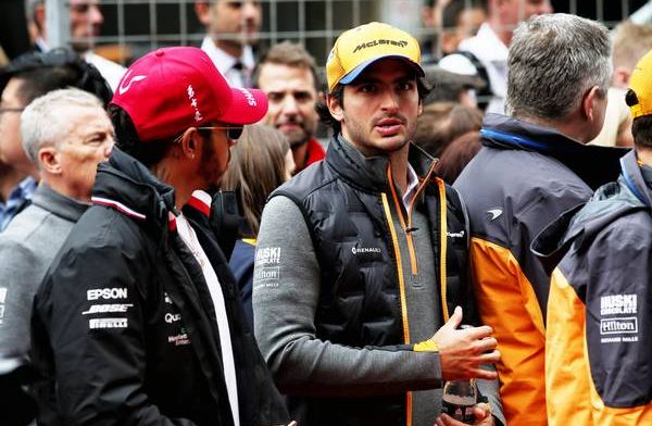 'I want to continue to get closer to the drivers in front'