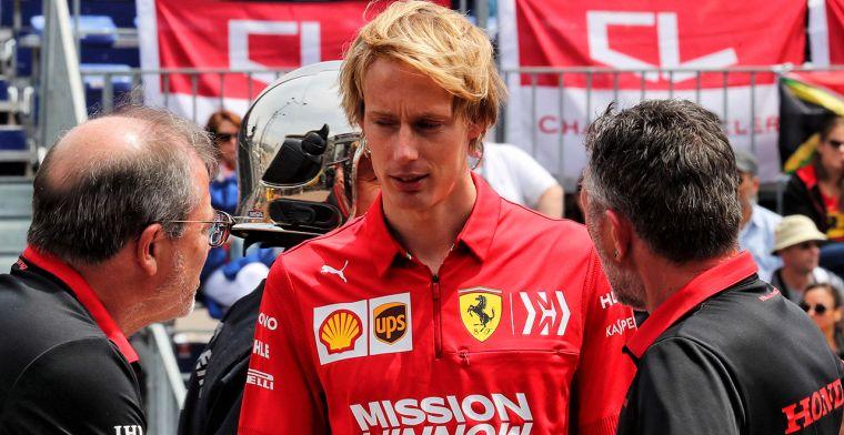 Hartley op de reservelijst bij twee F1-teams