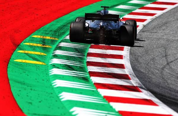 Formula 1 Austrian GP FP1 Report: Hamilton on top as kerb incident ends session