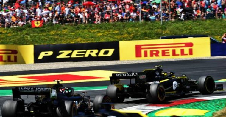 Ricciardo struggled from lap one of the Austrian Grand Prix