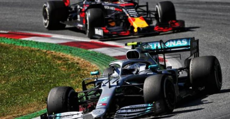 Bottas rues overheating at the Austrian Grand Prix