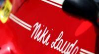 Afbeelding: Eerbetoon aan Niki Lauda op de Red Bull Ring