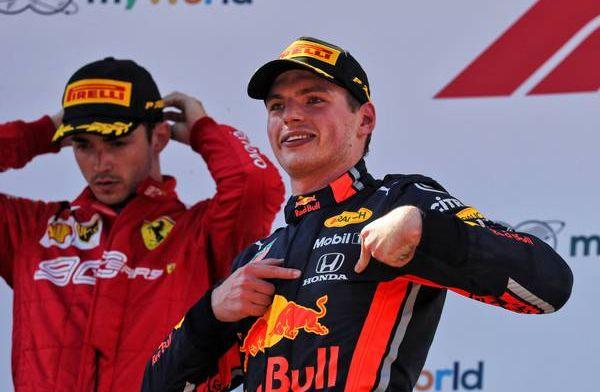 Verstappen backs Leclerc to win a race in 2019