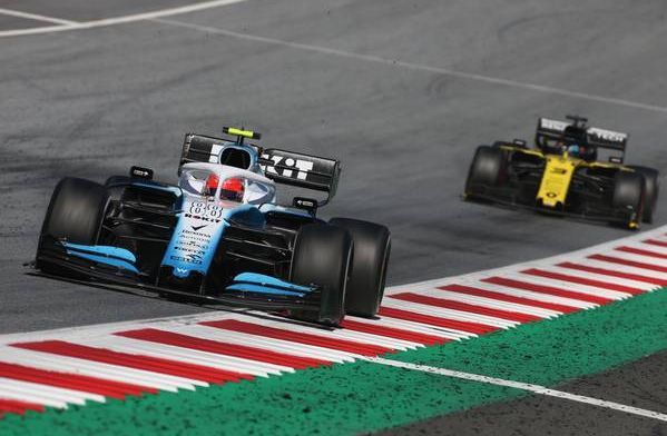 Kubica couldn't manage very bad handling of Williams car in Austria