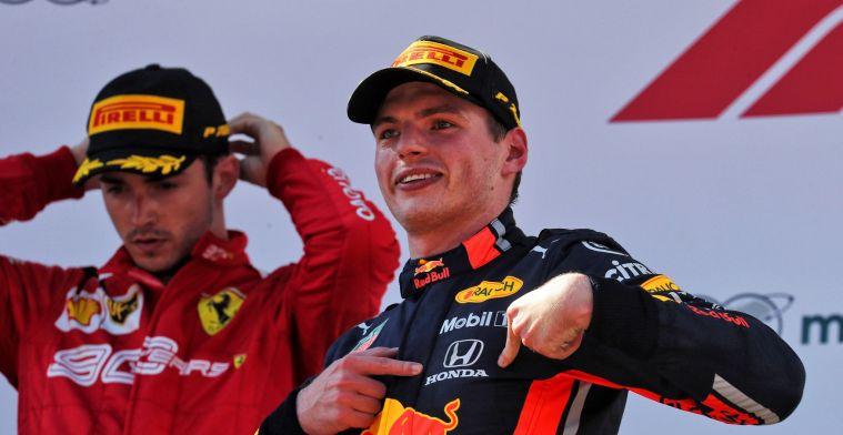 Max Verstappen zou in het rijtje Schumacher-Hamilton staan met een goede auto