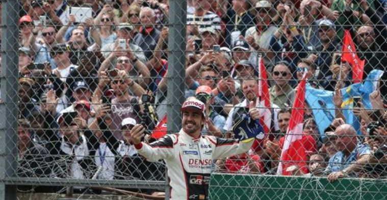 Alonso vows to keep going in pursuit of triple crown