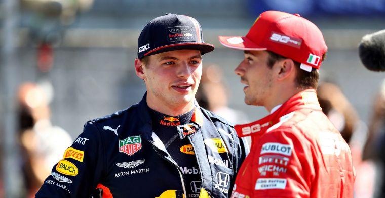 """Buxton over Charles Leclerc en Max Verstappen: """"Dit is de toekomst van de F1"""