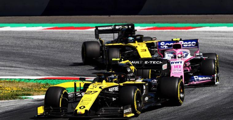 Renault komt op Silverstone met volledige aerodynamische update