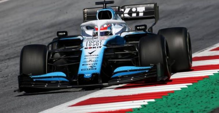 Watch: Williams F1 making difficult progress