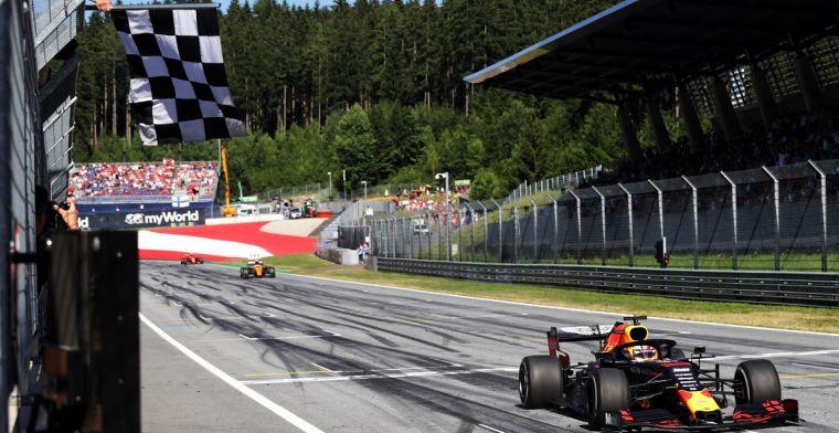Helmut Marko plaatst overwinning Verstappen bij top drie beste Red Bull races ooit