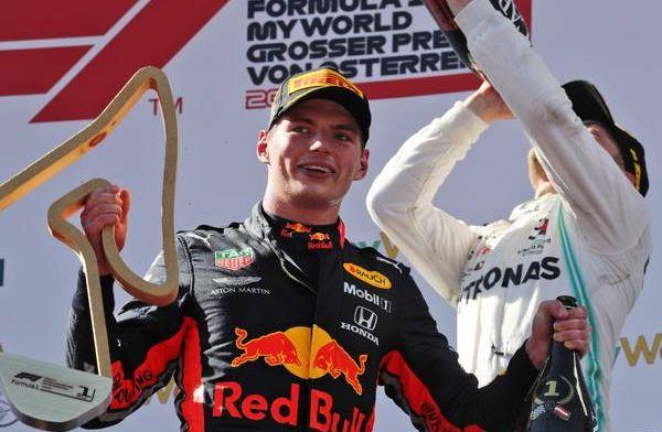 Verstappen: ''Laten we de lijn van Oostenrijk doortrekken op Silverstone''
