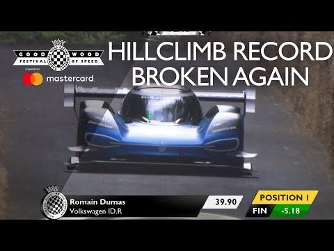 Electric VW breaks Formula 1's 20-year-old Goodwood record