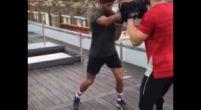 Afbeelding: Ricciardo haalt Rocky in zichzelf naar boven voor GP Groot-Brittannië