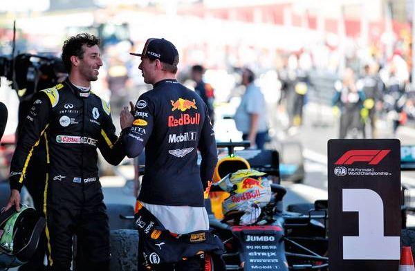 """Ricciardo: """"Geen sneer naar Red Bull, maar de titel is er nog lang niet"""""""