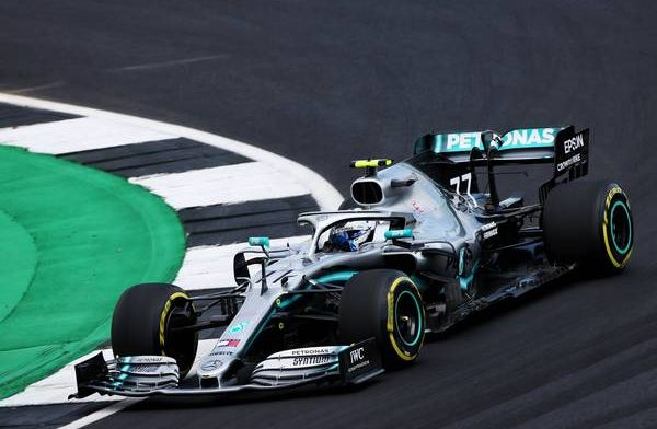 Bottas tops FP2 as drivers struggle to handle the strong wind