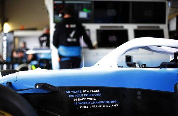 Williams arriveert met eerste grote update bij thuisrace Silverstone