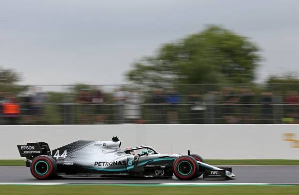 Hamilton hopes the home crowd will push him to a race win despite Qualifying 2nd
