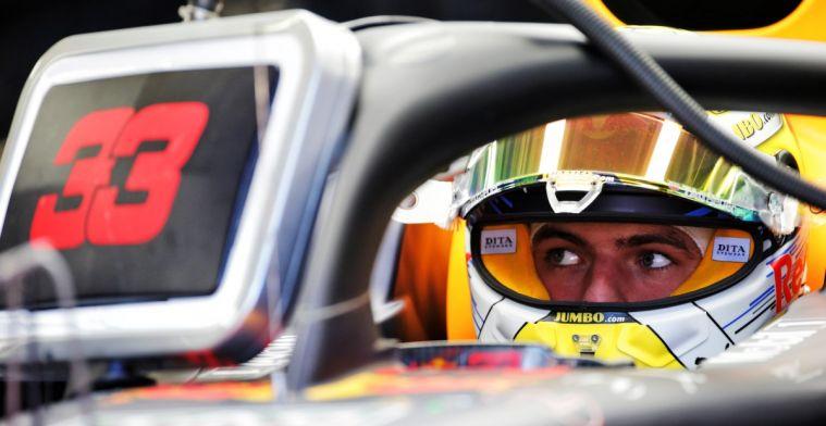 Max Verstappen hoeft zich niet op te winden achter het stuur