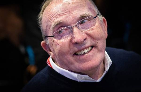 Watch   Lewis Hamilton takes Frank Williams for a lap of Silverstone