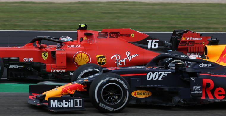 De internationale pers smult van het gevecht tussen Verstappen en Leclerc!