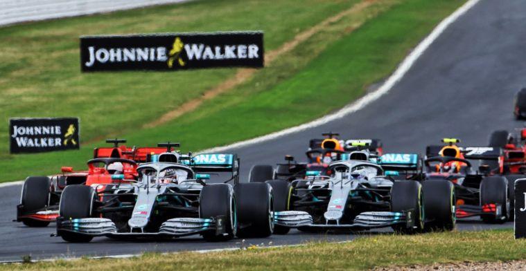 Rapportcijfers teams voor de Grand Prix van Groot-Brittannië