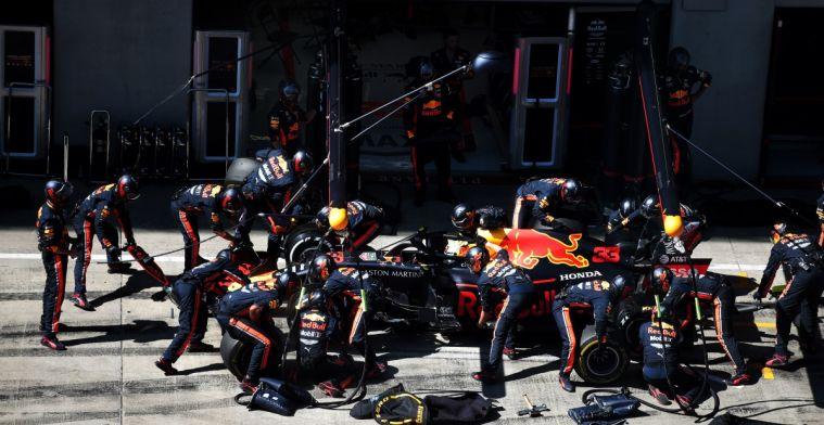 Red Bull Racing maakt snelste pitstop ooit tijdens GP Groot-Brittannië