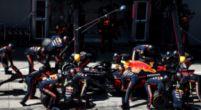 Afbeelding: Red Bull Racing maakt snelste pitstop ooit tijdens GP Groot-Brittannië