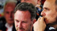 Afbeelding: Horner blij met Gasly, maar treurt mee met Verstappen op Silverstone