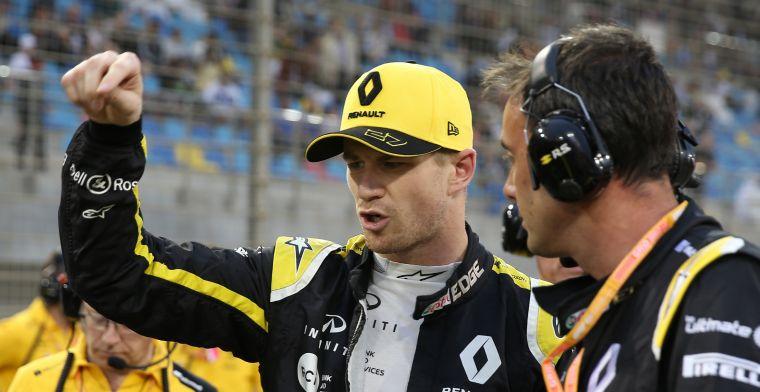 Renault steekt hand in eigen boezem: Wij maakten race van Hulkenberg lastig