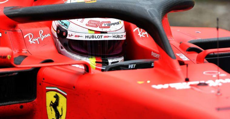 Crash Vettel levert felle kritiek op van Italiaanse media