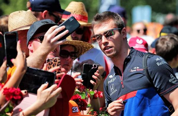 Daniil Kvyat managed to extract everything from the car at the British GP