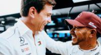 "Afbeelding: Wolff verbaasd over snelste ronde Hamilton: ""Dat kan helemaal niet op die band"""