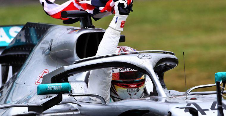 Hamilton nam een risico met de snelste raceronde op oude banden