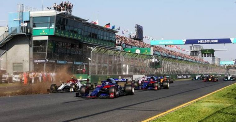 A fantastic vote of confidence as Melbourne renews its F1 contract