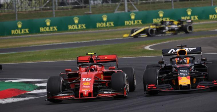 Palmer over Verstappen-Leclerc: Wie de bal kaatst, kan hem terugverwachten