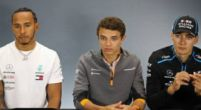 """Image: Lando Norris and Lewis Hamilton """"look forward"""" to racing each other in the future"""