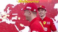 Afbeelding: KIJKEN Leclerc en Vettel in elk geval competitief naast het circuit...