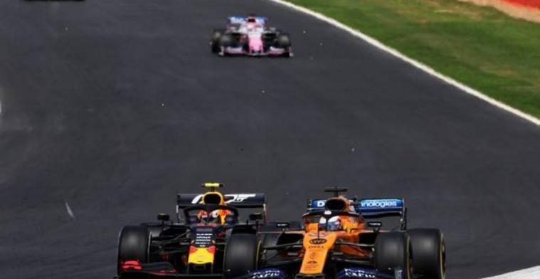 Sainz feeling the same pressure he felt at Red Bull