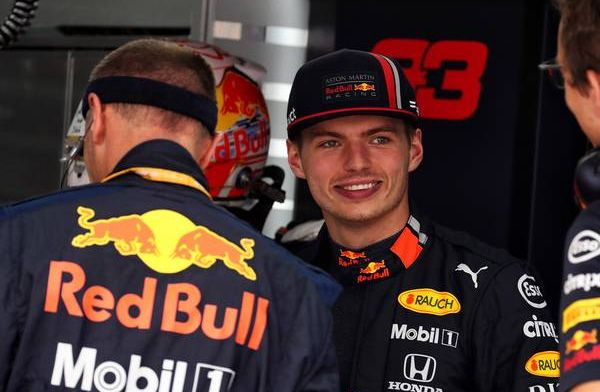 Postman Max! Verstappen and Coulthard deliver parcels in Nice!