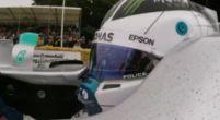 Afbeelding: KIJKEN Onboards Bottas in Mercedes W08 bij Goodwood Festival