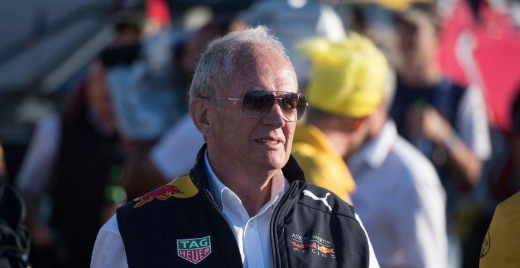 Helmut Marko strikes again: Je hebt tien mensen nodig om de auto te starten!