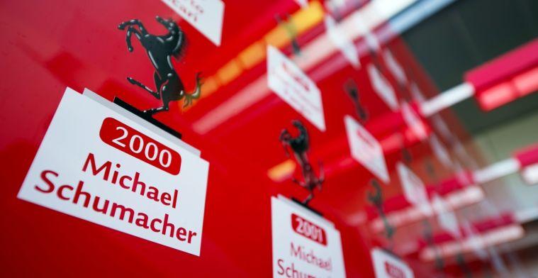 21 juli, de dag dat Schumacher al zijn vijfde wereldtitel won