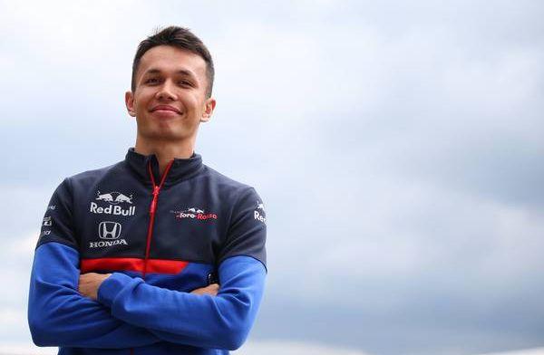 Alexander Albon slaat Thaise sponsor aan de haak voor Toro Rosso