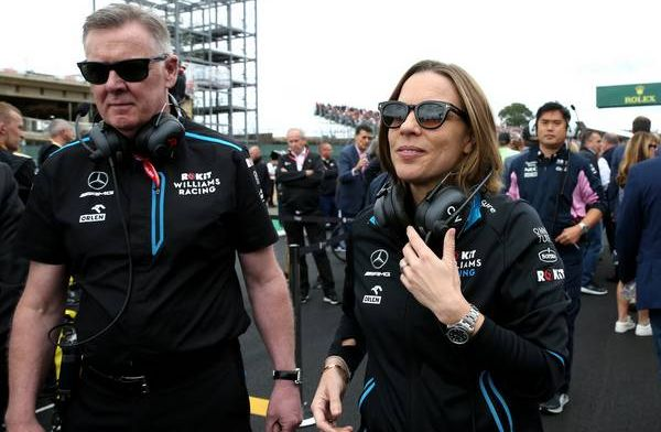 Claire Williams seeing the green shoots of progress at Williams
