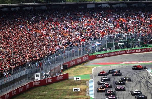 What time does the German Grand Prix start?