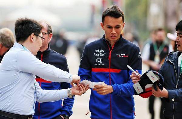 Alexander Albon hooks up Thai sponsor for Toro Rosso